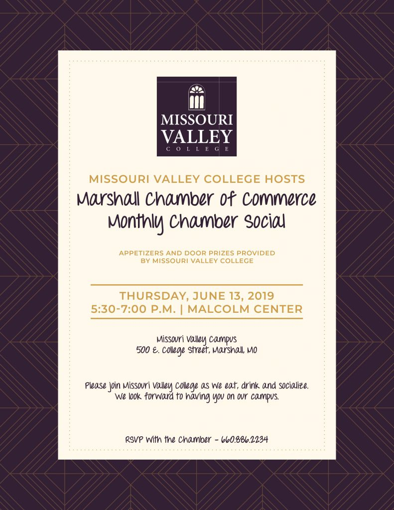 MVC Hosts Monthly Chamber Event - Missouri Valley College